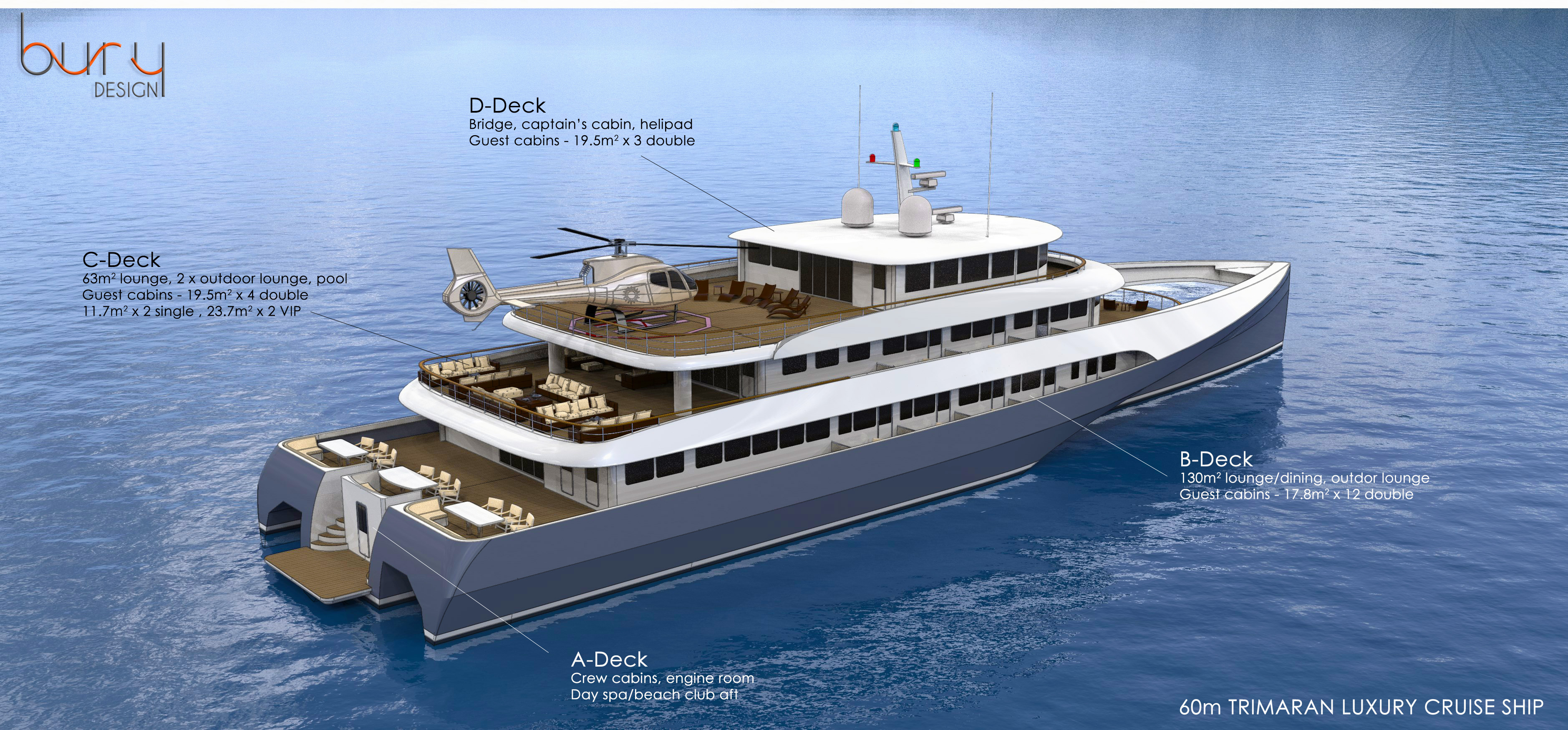 Design M Luxury Cruise Ship Bury Design - Cruise ship speed